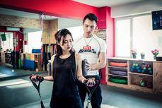 急速瘦身一对一健身私教