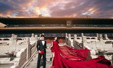 玫瑰星座婚纱摄影套系