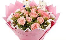 相约爱花吧11朵玫瑰套餐