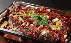 品烫烤鲶鱼三人餐