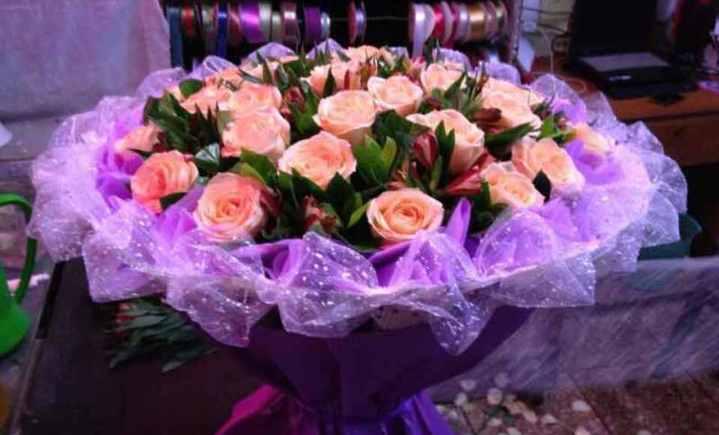 爱情海鲜花