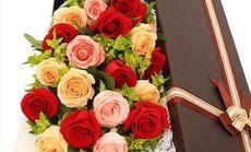 花为媒混搭玫瑰礼盒