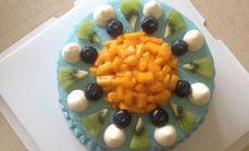 cookie水果蛋糕