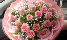 粉玫瑰19枝套餐