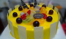 开口福蛋糕12英寸生日蛋糕