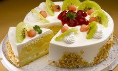 乐美8寸水果蛋糕