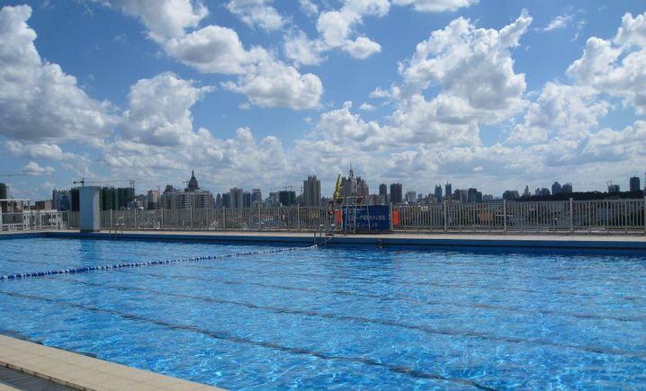广西师范学院游泳池
