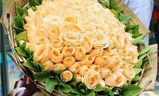 千寻鲜花99朵玫瑰花束鲜花