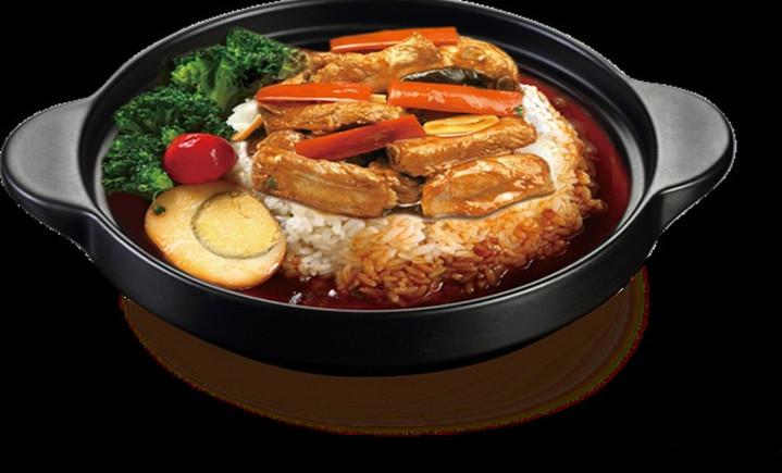 香锅鸡米饭