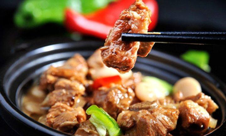 熊二黄焖鸡米饭