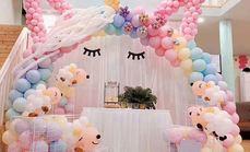 棒棒糖高端气球派对布置