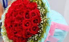 唯美盛典33枝红玫瑰