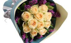 平印象花艺11支玫瑰