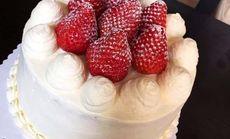 经典奶油水果蛋糕8寸