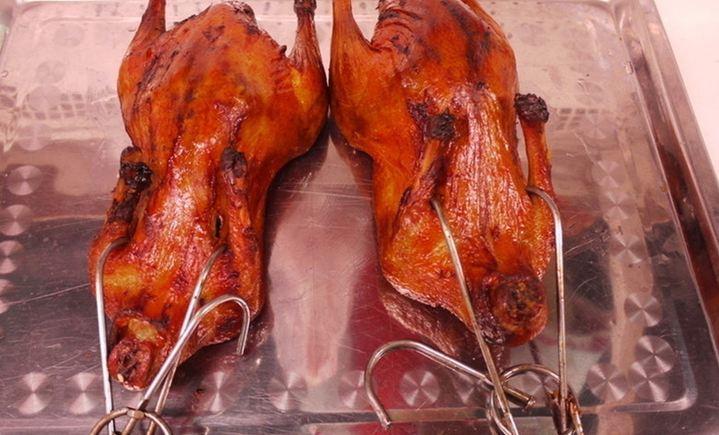 上海天凤阁脆皮烤鸭