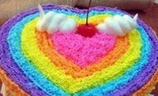 多乐滋10英寸彩虹蛋糕