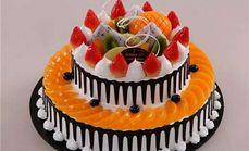 恋尚两层鲜奶水果蛋糕