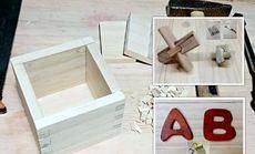 揣揣木工坊综合课程制作木盒