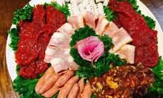 韩一炭火烤肉特惠三人餐