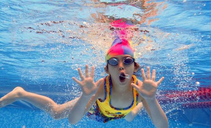 奥林匹克花园海洋游泳馆