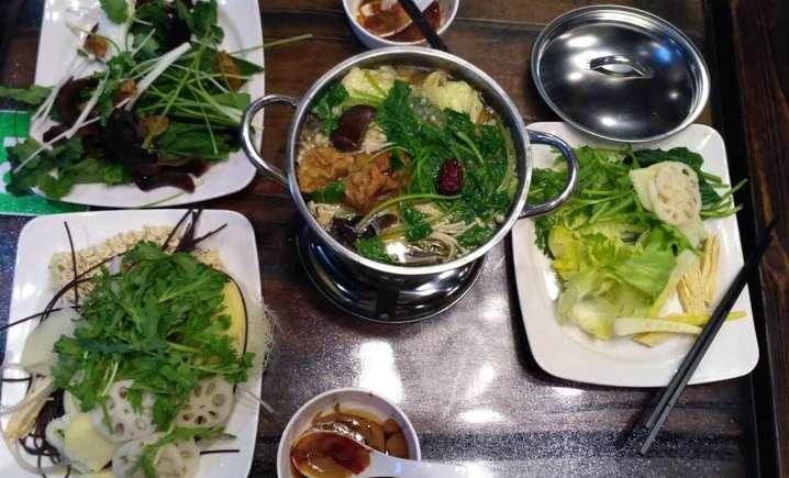 海潮音餐饮自助素食茶餐厅 - 大图