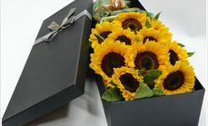 梓怡花坊11朵向日葵礼盒