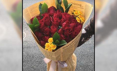 勿忘我鲜花