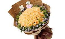 爱琴海鲜花33支玫瑰花束