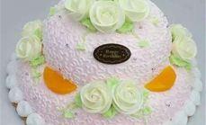 烘焙时光12寸双层欧式蛋糕