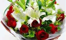 爱慕鲜花19朵玫瑰花束