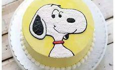 丹麦芝味8寸卡通蛋糕