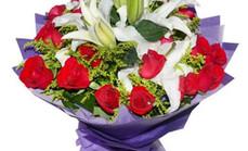 花之恋19玫瑰加2百合