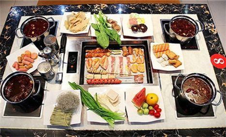 九九香韩式自助火锅+烧烤