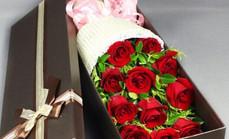 鲜花坊11支玫瑰礼盒