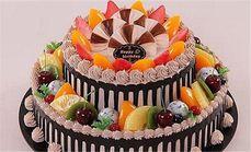 爱分享双层蛋糕