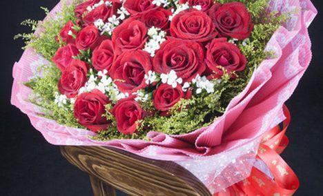 火玫瑰花店