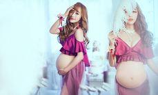 纽约风尚孕妇照写真