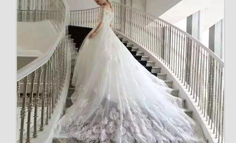 台湾布蕾丝婚纱礼服高级定制