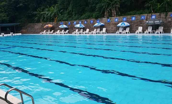 罗江县游泳池