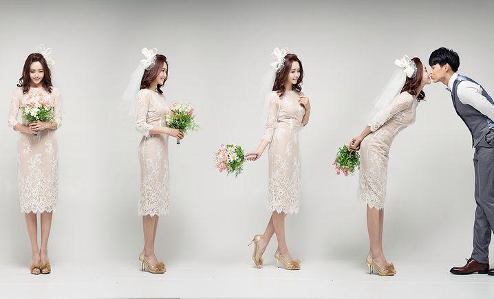 韩像素婚纱