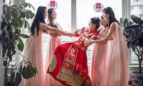 竹希阁新娘跟妆