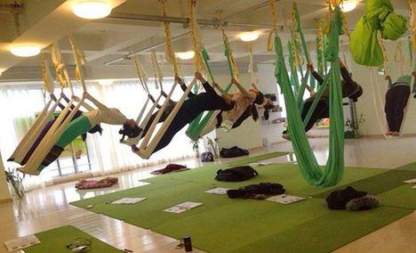伽人空中瑜伽普拉提学院