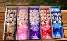 520鲜花11只小熊礼盒