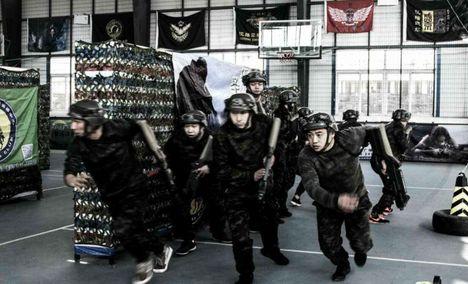 久联青年军少年CS拓展训练营