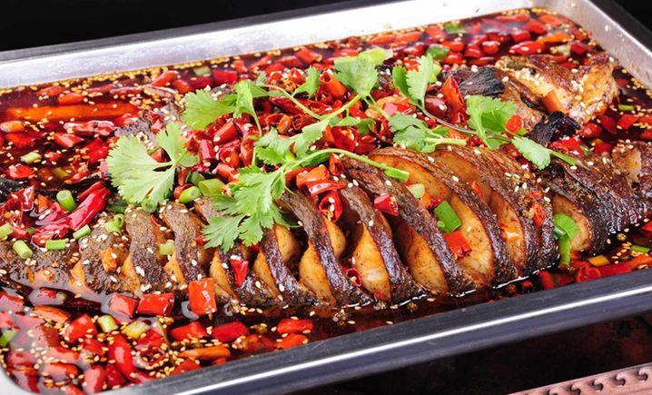 五味香碳烤鱼 - 大图