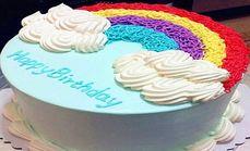 滒润蛋糕10寸彩虹蛋糕
