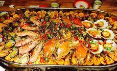 金手勺海鲜大咖豪华人餐