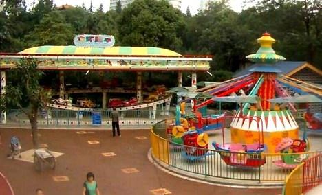 文化公园儿童游乐场
