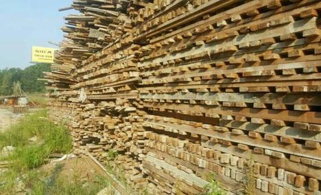 滁州盛强新旧模板木方批发中心