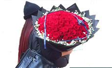 花巴巴99朵玫瑰礼盒